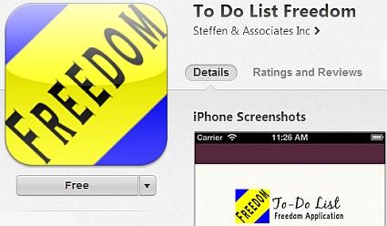 To Do List Freedom App