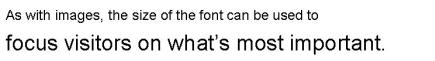 Font - Size